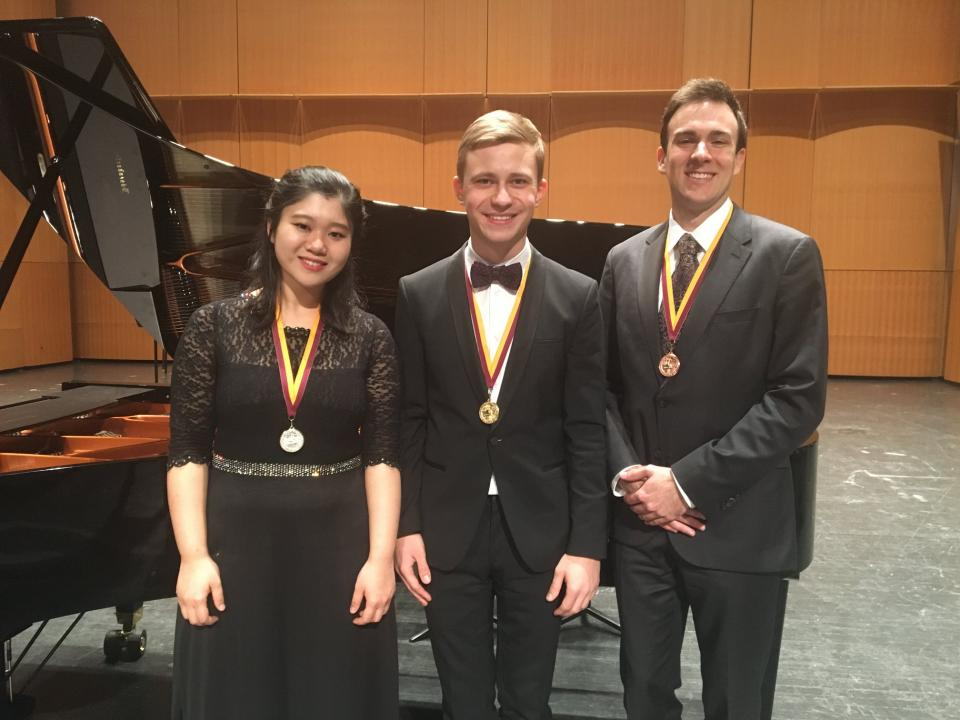 Bosendorfer competition winners